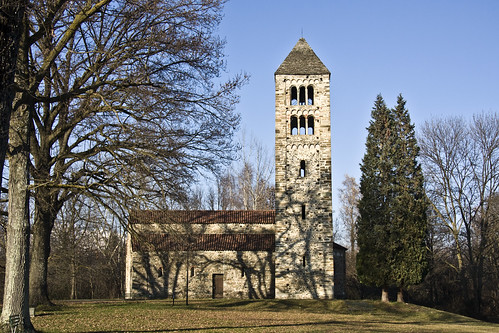 San Secondo Romanic Church #2 (by storvandre)
