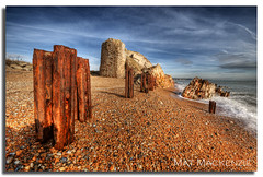 Survivor #2, by Mat (Mat Mackenzie) Tags: sea tower english beach kent ruin groyne defence channel hythe martello dymchurch shepway