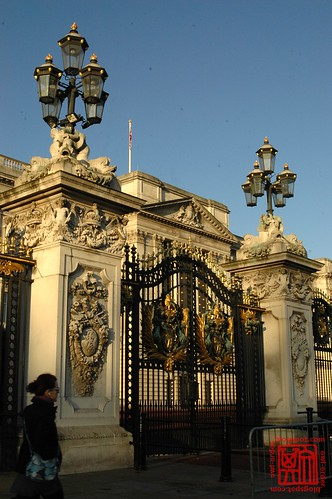 Gate, Buckingham Palace