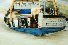 Antole 4 (winschoter) Tags: ice boot boat ship bow sunk ijs gezonken winschoten oostgroningenvissersschipantole
