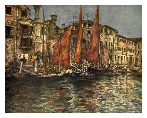 026- El mercado del pescado-Venice – 1904-Dorothy Menpes