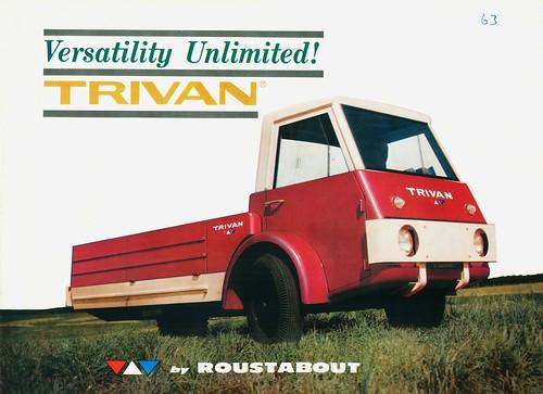 1963 Trivan Brochure