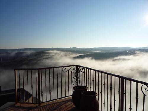 Foggy Balcony