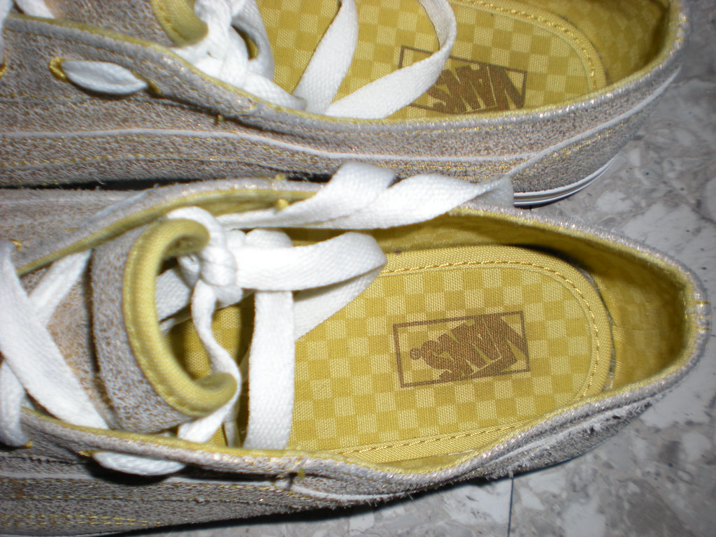 e169b1d9ee 025 (Lola05t) Tags  old metal gold shoes lo skool pro vans cracked