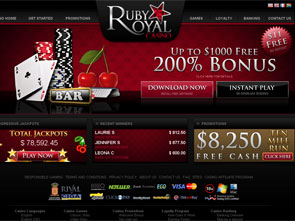 Ruby Royal Casino Home