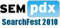 SEMpdx SearchFest 2010 logo
