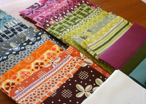 Flower Valley Quilt - squares