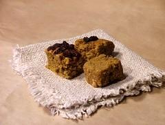 sweet pumpkin cubes2 (briiblog) Tags: pumpkin cinnamon raisins pastry flour egges