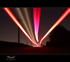 F a s t! (Faisal | Photography) Tags: longexposure nightphotography light red black car night speed shot trails l usm f28 ef ef2470mmf28lusm 2470mm canoneos50d riyadhsaudiarabia canonremoteswitchrs80n3 faisal|photography