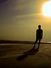 Shurjer Opashe..... (Hridoy_Tanveer) Tags: blue shadow sky sun beach dark shade maowa