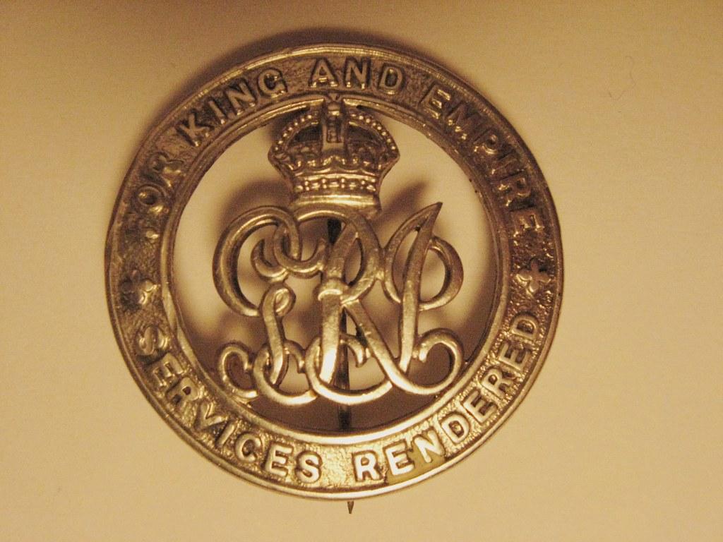 British WW1 Silver Wound Badge