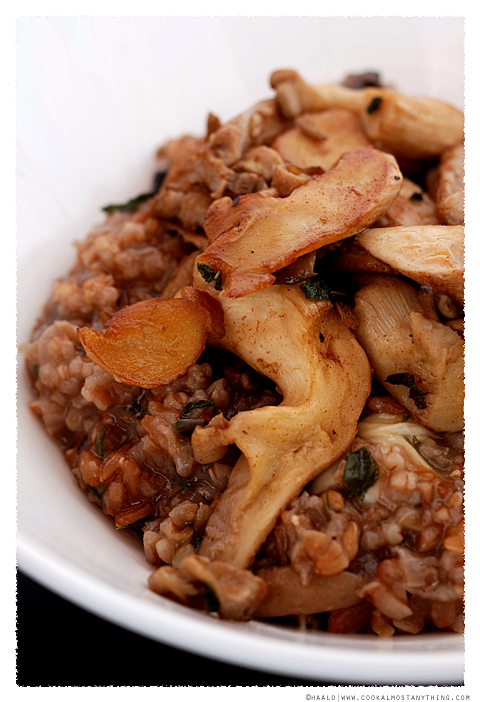farro risotto© by Haalo