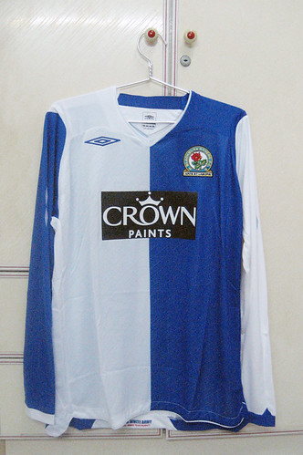 Blackburn Rovers 2008/2009 Home L/S