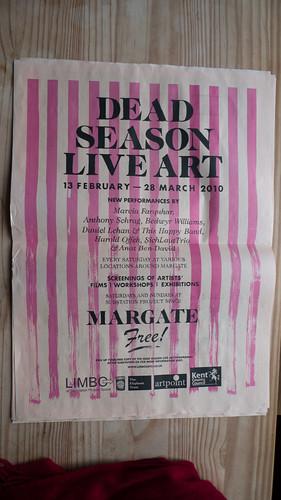 Dead Season Live Art