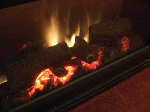 Fireplace... Fake?