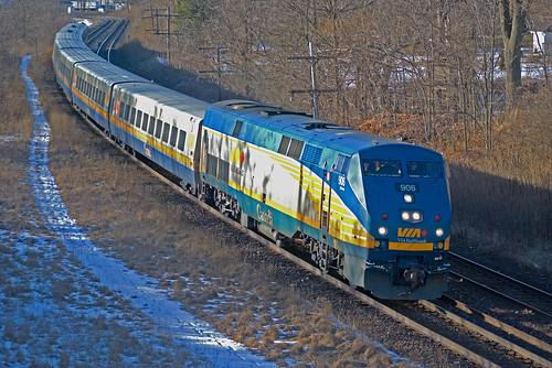 VIA Rail Train #76 by t47360