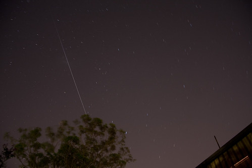 ISS over Melbourne