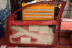 APR Motorsport Build - Door Empty