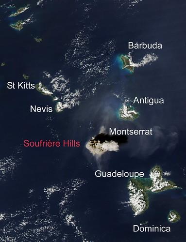 Soufriere Hills Kollaps
