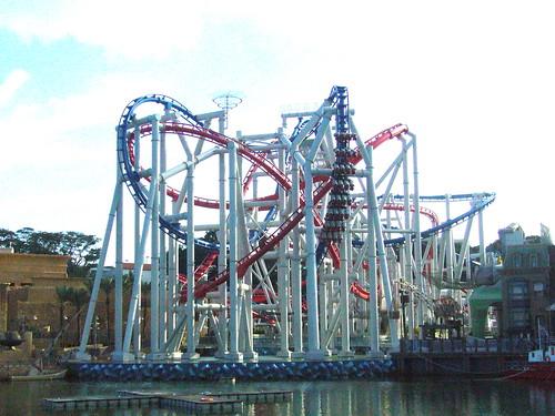 Universal Studios Singapore Roller Coaster