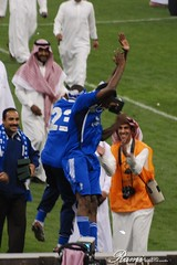 Crown Cup Final Match - 2010 -     (Rami ) Tags: cup king stadium final saudi arabia match crown riyadh ksa ahli  fahd hilal      radoi             mirel