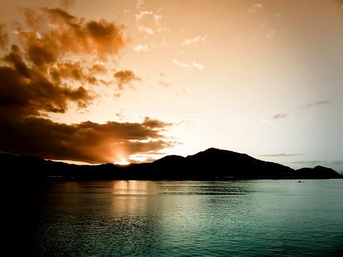 Sunset  in Getxo