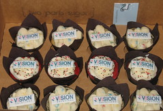 Vision Solutions charity cupcakes