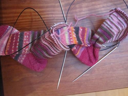 Sock barfing II