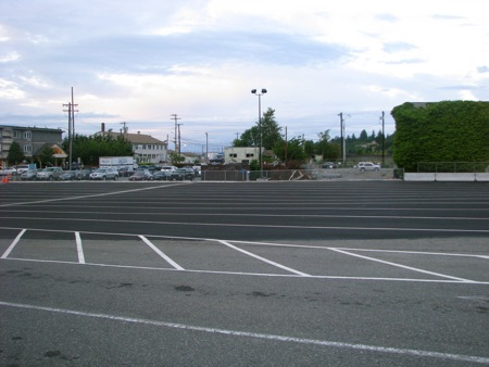 Mukilteo WSF Parking Lot