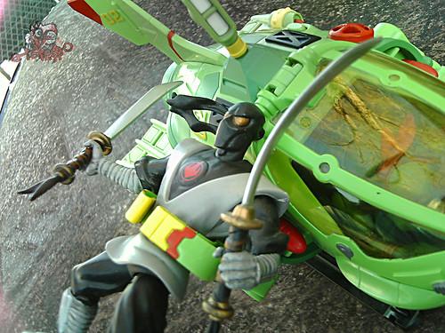 Teenage Mutant Ninja Turtles :: SHELL SUB..; Foot Ninja nabbed