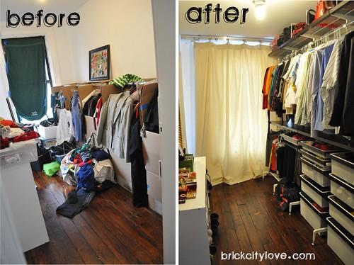 Thrifty Tip Closets