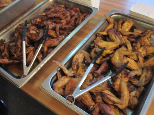 Wings at Sid Lee happy hour (free)