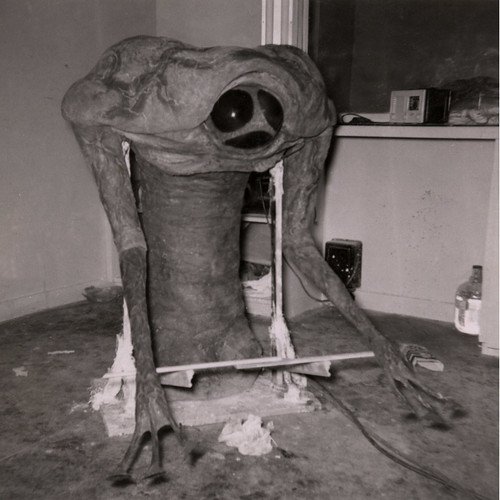 THE WAR OF THE WORLDS (1953) Martian costume construction
