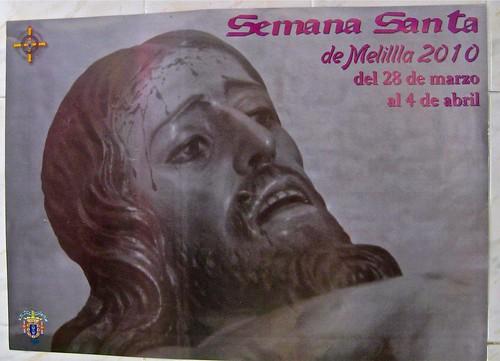 Mala impresión del cartel de Semana Santa