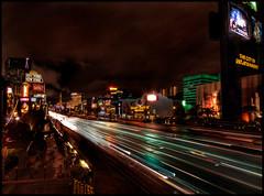 Las Vegas The Strip at night