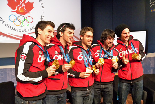 Short Track Gold Medal Team