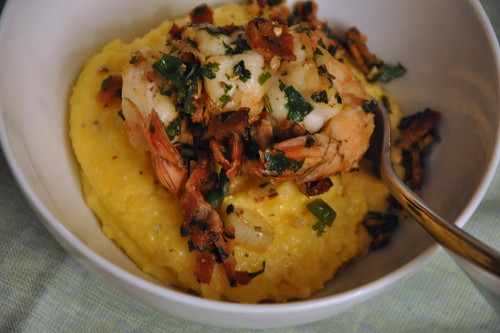4399904545 db4abf4ba3 City Living, Country Cookin: Shrimp and Grits, Bobby Flay style