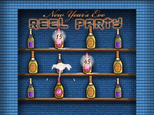 free Reel Party slot bonus game