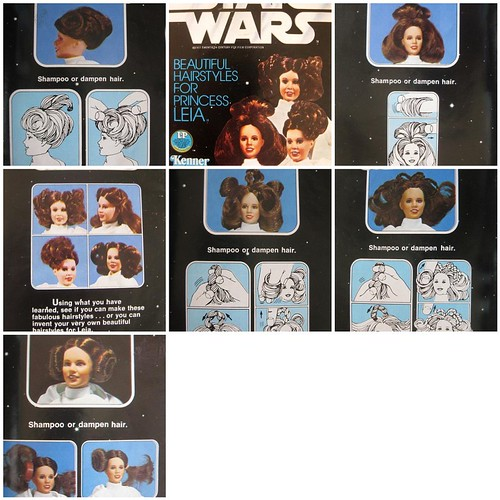Princess Leia hairstyling booklet