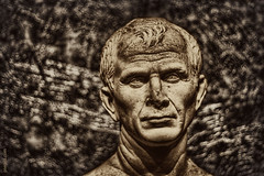 Caius Julius Caesar (Pierpol) Tags: portrait people sculpture caesar cesar caius arles julius caiusjuliuscaesar