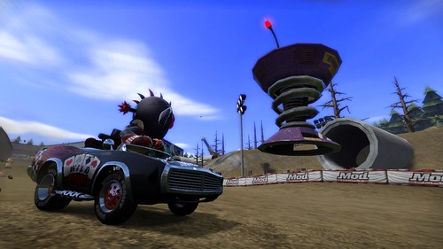 ModNation Racers PS3 Screenshot - Mod Bot