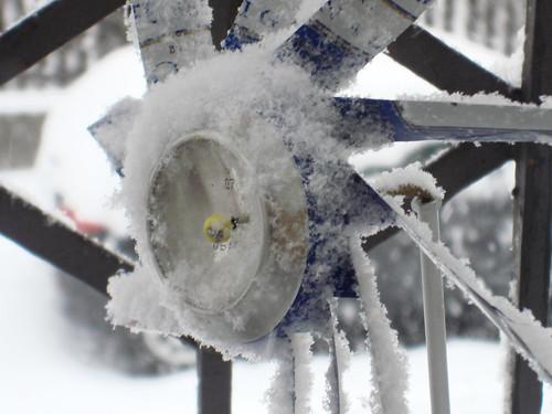 Schnee in Züri 6.3.10