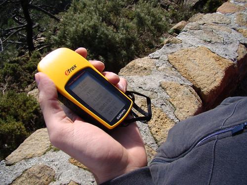 Preparando el GPS