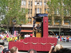 The King and Queen of Moomba