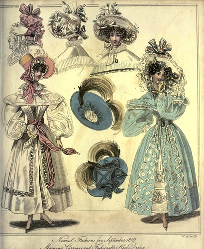 013-The World of fashion and continental feuilletons 1829