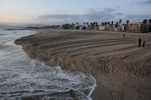 Venice Beach Sand Wall