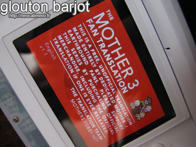 Mother 3 traduit sur DS