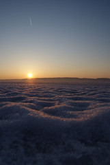 Bay of quite (stefatc) Tags: morning ice fog de bay shore brouillard bord glace trenton matin quinte leau boué