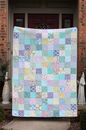 Cool Colors Quilt - Front
