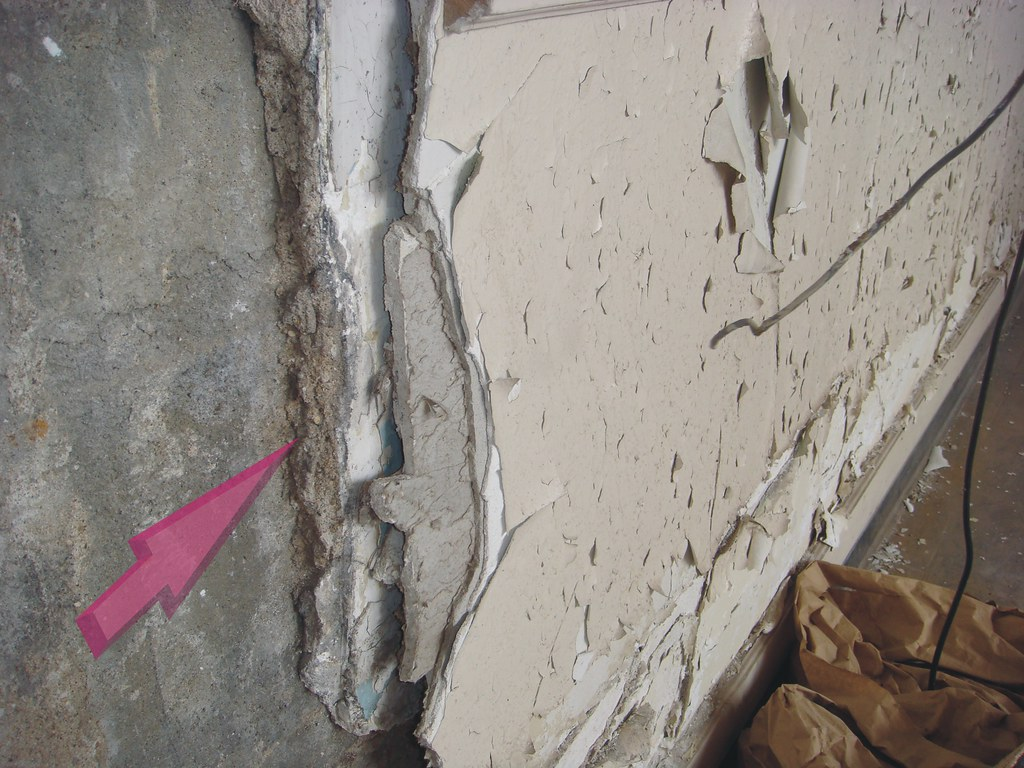 The world 39 s best photos of asbestos and plaster flickr for Gypsum board asbestos